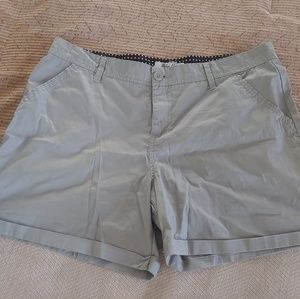 Blue Epic Grey Shorts Size 16